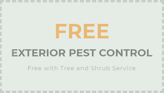 Free Exterior Pest Control Coupon